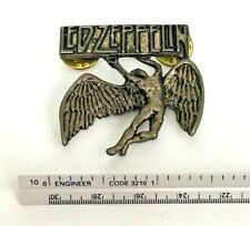 Vtg Led Zeppelin Pin Hard Rock Memorabilia Rare Retired