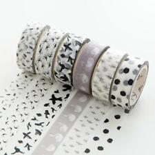 7M DIY Floral Washi Sticker Decors Roll Paper Masking Adhesive Tape Craft Gift