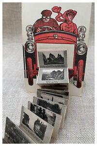 Garden Of The Gods Rare Fold-Out Old Postcard Colorado 1907 Mini Photos 23 Views