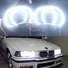4pcs Led Angel Eyes White Halo Rings Error Free BMW E36 E38 E39 E46 Light Kits