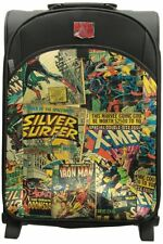 Marvel Comics Retro Trolley Suitcase Superhero Travel Case Zip Pockets