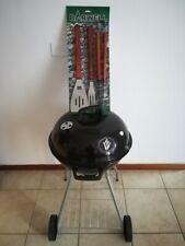 Barbecue BBQ PUPO Grill a Carbone Carbonella Coperchio Ruote Raccoglitore ø 45cm