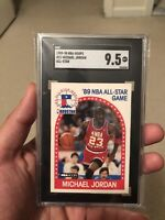 Michael Jordan 1989 #21 All-Star 9.5 MINT Possible PSA 10 Conversion!!!