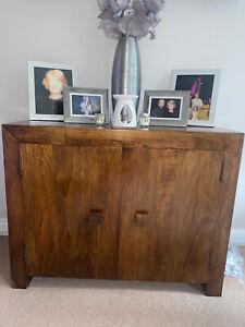 Next Mango Wood Sideboard Cabinet