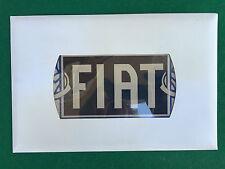 TARGA DI LATTA 29x20 cm Hachette - FIAT in Busta sigillata NUOVO !!! Auto