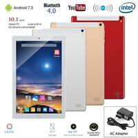 """10.1"""" Phablet Tablet PC Android 7 Octa Core WIFI GPS Dual SIM Card Camera 1G+16G"""
