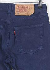 Levis 501 W27 L30 Bleu Denim Jeans (4AR) Copain Mum Maman