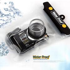 Waterproof Underwater Housing Case for Compact Digital Camera Panasonic Samsung