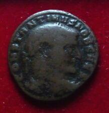 Constantine I the Great, as Caesar 307, Aquileia AE follis Mars w/ trophy 28mm