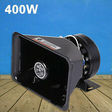 Ultra Loud Speaker PA System Horn Siren Police Emergency Warning Car Alarm 200W