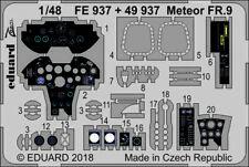 Eduard 1/48 Gloster Meteor FR.9 Zoom Set # FE937