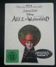 ALICE IM WUNDERLAND (Alice in Wonderland) STEELBOOK [NEW/Blu-ray] Germany Imp