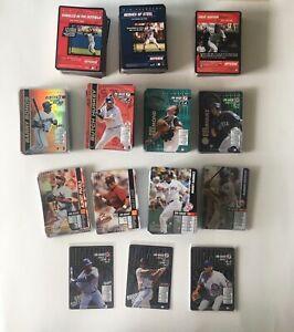 MLB SHOWDOWN TCG 550+ cards - 68 Foils - 294 Player Cards base  - 9 Promos - LOT