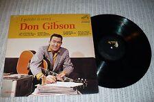 Don Gibson LP, I Wrote A Song, LPM 2702, ORIGINAL 1963, VG+