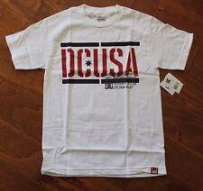 New with Tags! Men's DC DYRDEK RD Stencil white Cotton T-Shirt, sz M