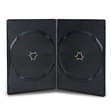 20 X DOPPIA NERO SLIM 7 mm spina dorsale DVD/CD/Blu Ray Caso