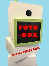 FOTOBOX MIETEN - VERMIETUNG - KEIN VERKAUF