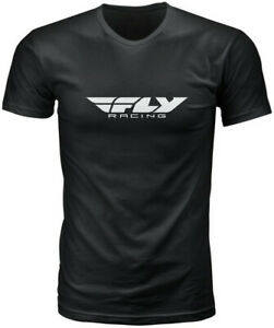 Fly Racing 2020 Corporate Tee Adult Black T-Shirt S