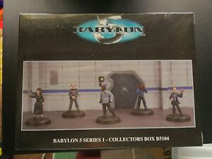 Babylon 5 Harlequin Miniature pewter figures Box B5104