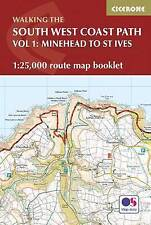 The South West Coast Path Map Booklet - Minehead to St Ives: 1:25,000 OS Route M