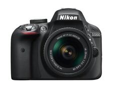 Nikon D3300 DSLR Camera with 18-55mm Lens - Black