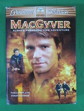 Macgyver Complete 1st Season 6 Dvds Paramount Television Richard Dean Anderson