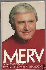 MERV- LATE GREAT WHEEL OF FORTUNE CREATOR/TALK SHOW HOST MERV GRIFFIN SIGNED 1ST