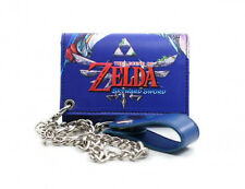 Nintendo LEGEND OF ZELDA SKYWARD SWORD Mens WALLET With Chain BIKER TRUCKER COOL