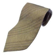 Auth GIORGIO ARMANII Tie Regimental Stripe Mens used Y2397
