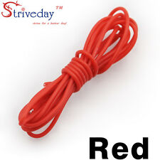 1 meters Red 30AWG Flexible Silicone Wire Outer Diameter 1.2mm DIY Cable line