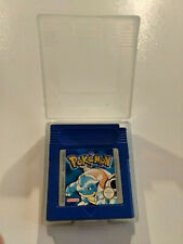 Pokemon Bleu + boitier de protection / Nintendo Game Boy / PAL / FAH