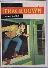 Topps 1958 Western TV Card # 19, Trackdown NRMT