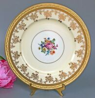 "Pickard China Edgerton DinnerPlates/Chargers 11""(12) Gold Filigree Floral E12612"