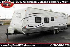 12 Coachmen Catalina Santara 271Bh Travel Trailer Towable Rv Camper Sleeps 10