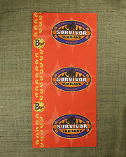 Rare Original 2002 Survivor Thailand Red Buff (Not Reissue!) Buff Only