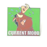 The Lion King Pumbaa Current Mood Weeping Disney Pin