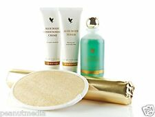 Forever Living Aloe Body Spa Toning Kit Wrap Herbal Cellulite Weight NEW SEALED