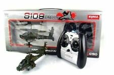 Syma S109G 3.5CH Infrared Control Indoor Mini RTF Apache RC Helicopter W/Gyro