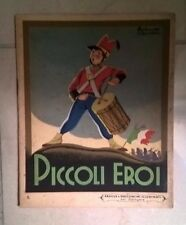 PICCOLI EROI FAVOLE E RACCONTI ILLUSTRATI PER DIPINGERE ILLUSTRATO SGRILLI 1941
