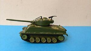 Vintage Zylmex Diecast WWII WW2 Type US Army M-4 Sherman Tank HK 1102