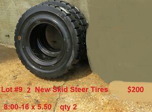 Skid Steer Forklift Tires 8:00-16 36x12x30 28x14x22 7:50-16 32-12.1-15 fork lift