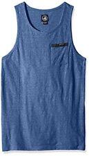 Body Glove Single Fin Camiseta sin mangas Royal nieve Heather Pequeño TD172 AA 07