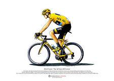 Chris Froome - Tour de France 2015 winner - ART POSTER A3 size