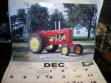 Vintage Tractor Calendar Original 1999 Collector's Edition 10TH Anniversary