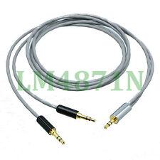 "DIY Y Balanced Leads Cable L-2B2AT 3.5mm plug stereo TRS to 2x 1/8"" plug Audio"