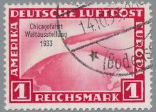 Chicagofahrt 1 RM Mi.Nr. 496 gestempelt