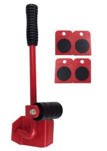5PCS Furniture Moving Tool Heavy Transport Shifter Wheel Slider Lifting Roller