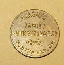 Biago's Deli Northfield Minnesota token