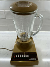 Hamilton Beach Scovill Model 600 Vintage Yellow 7-Speed Blender