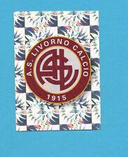 PANINI CALCIATORI 2009-2010-Figurina n.265- SCUDETTO/BADGE-LIVORNO-NEW